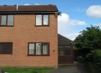 Thumbnail 1 bed semi-detached house to rent in Oakgrove Place, Northampton