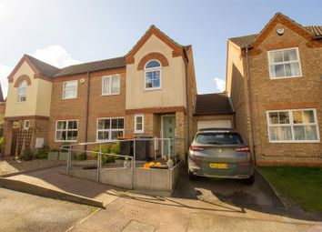 Thumbnail 3 bed semi-detached house for sale in Fisher Close, Barton-Le-Clay, Bedford