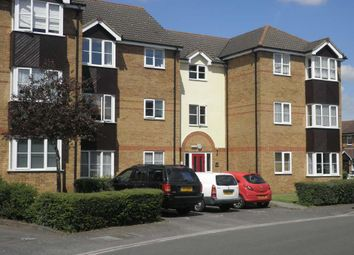 Thumbnail 2 bedroom flat to rent in Falcon Close, Dunstable