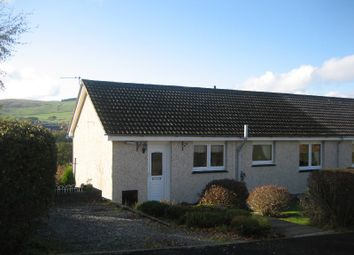 Thumbnail 2 bed semi-detached house to rent in Ladhope Crescent, Galashiels, Borders