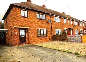Thumbnail 3 bed end terrace house for sale in Stamford Road, Kettering