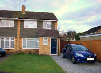 Thumbnail 3 bed semi-detached house to rent in Gloucester Road, Bagshot