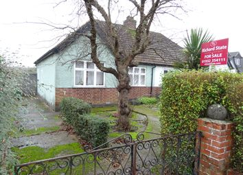 Thumbnail 3 bed semi-detached bungalow for sale in Farleigh Road, New Haw
