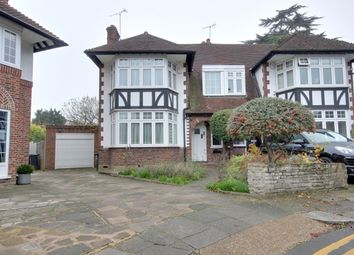 Thumbnail 3 bed semi-detached house to rent in Yew Tree Close, Winchmore Hill