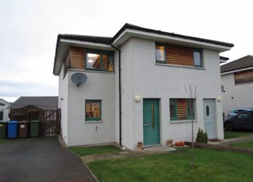 Thumbnail 2 bed semi-detached house for sale in Hillside Drive, Westhill, Inverness
