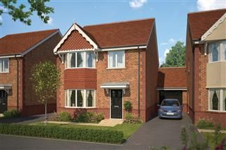 Thumbnail 4 bed link-detached house for sale in Wenman Road, Thame