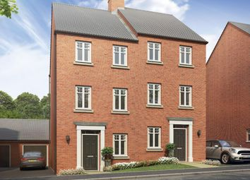 "Thumbnail 3 bed end terrace house for sale in ""Cannington"" at Mount Street, Barrowby Road, Grantham"