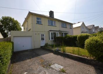 Thumbnail 3 bed semi-detached house for sale in Plymstock Road, Plymouth, Devon