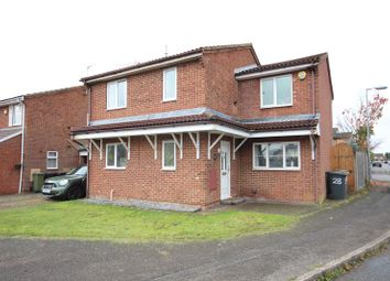 Thumbnail 4 bed detached house to rent in Corbridge Drive, Luton