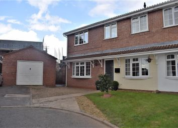 Thumbnail 3 bed semi-detached house for sale in Blake Close, Galley Common, Nuneaton
