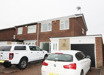 Thumbnail 3 bed semi-detached house for sale in Kirkbride Place, Cramlington
