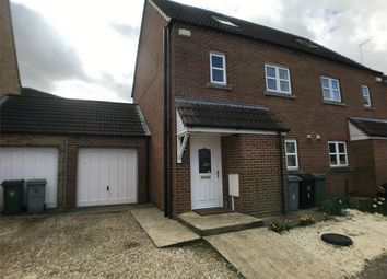 Thumbnail 4 bedroom semi-detached house to rent in Hereward Way, Billingborough, Sleaford, Lincolnshire