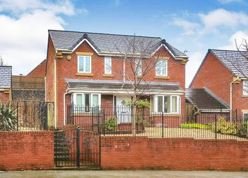Thumbnail 4 bed detached house for sale in Mottram Road, Hyde, Cheshire