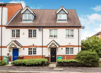 Thumbnail 3 bed town house for sale in Tannin Crescent, Bulwell, Nottingham