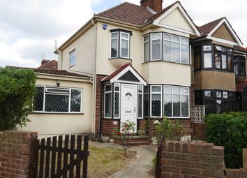 Thumbnail 3 bedroom semi-detached house for sale in High Road, Broxbourne