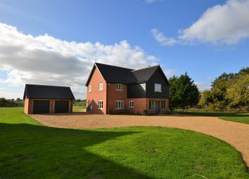 Thumbnail 5 bedroom detached house for sale in Wheelers Lane, Seething, Norwich