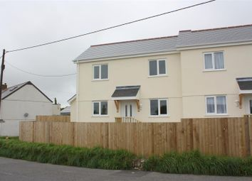 Thumbnail 2 bed semi-detached house to rent in St. Columb Road, St. Columb