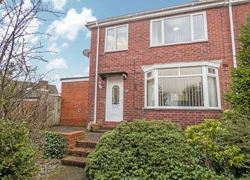 Thumbnail 3 bed semi-detached house for sale in Hillside Gardens, Sunderland