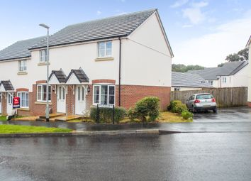 Thumbnail 2 bed end terrace house to rent in Oak Moor Drive, Launceston, Cornwall