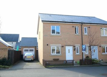 Thumbnail 3 bed semi-detached house for sale in Wren Gardens, Portishead, North Somerset