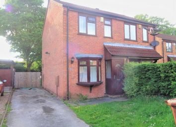 Thumbnail 2 bed semi-detached house for sale in Stenigot Close, Lincoln