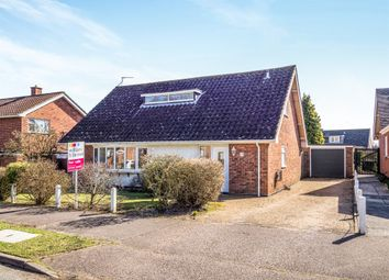 Thumbnail 4 bed bungalow for sale in Brettingham Avenue, Cringleford, Norwich