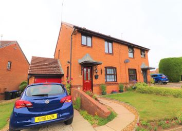 Thumbnail 3 bed property for sale in Downsway, East Hunsbury, Northampton