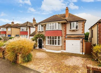 Thumbnail 4 bed detached house for sale in Seymour Avenue, Epsom, Surrey