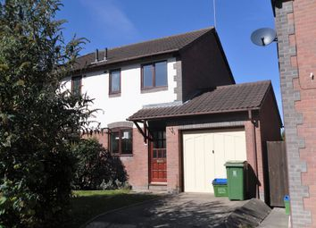 Thumbnail 2 bed semi-detached house to rent in Frinton Close, Bicton Heath, Shrewsbury