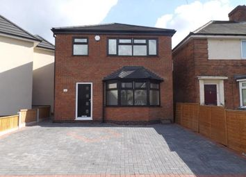 Thumbnail 3 bedroom detached house for sale in Drews Lane, Birmingham, West Midlands