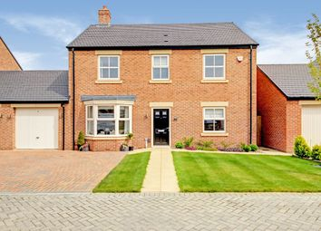 Thumbnail 4 bed detached house for sale in Fairway Lane, Backworth Park, Newcastle Upon Tyne, Tyne And Wear