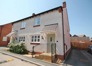 Thumbnail 3 bed semi-detached house to rent in Argonaut Avenue, Castle Donington, Derby
