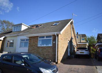 Thumbnail 3 bed semi-detached bungalow for sale in Lan Deri, Winch Wen, Swansea, West Glamorgan.