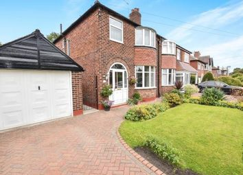 Thumbnail 3 bed semi-detached house for sale in Cranston Drive, Sale, Greater Manchester, .