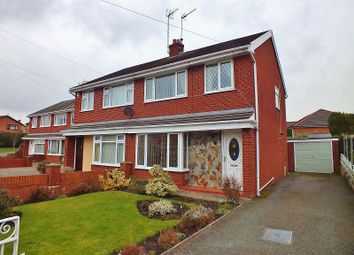 Thumbnail 3 bed semi-detached house for sale in Clarence Road, Wrexham