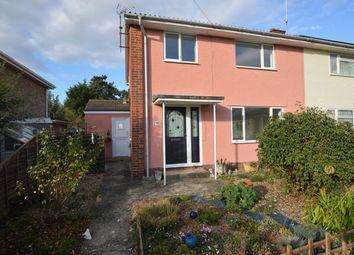 Thumbnail 3 bed semi-detached house for sale in Dash End, Kedington