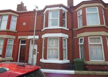 Thumbnail 3 bedroom terraced house to rent in Harcourt Street, Birkenhead