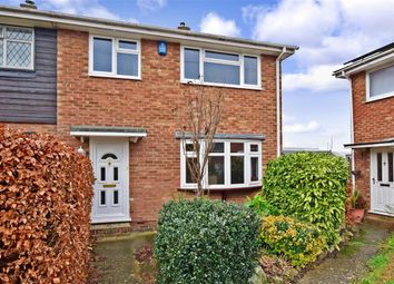 Thumbnail 3 bed end terrace house for sale in Heron Road, Birds Estate, Larkfield, Kent