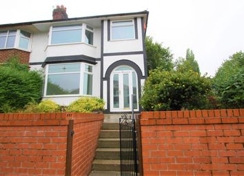 Thumbnail 3 bed semi-detached house for sale in Heaton Street, Prestwich, Manchester