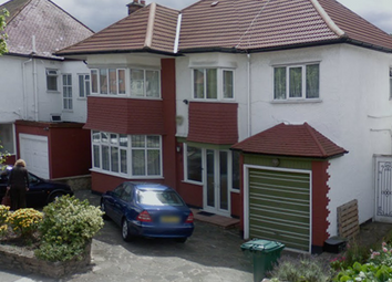 Thumbnail 1 bed semi-detached house to rent in Alderton Crescent, Hendon, London