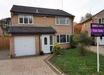 Thumbnail 4 bed detached house for sale in Faringdon Court, Northampton