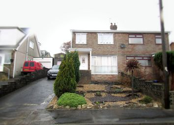 Thumbnail 3 bed semi-detached house for sale in Nantfach, Llanelli, Carmarthenshire.