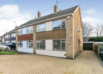 3 bed semi-detached house for sale in Perth Rise, Mount Nod, Coventry, West Midlands CV5