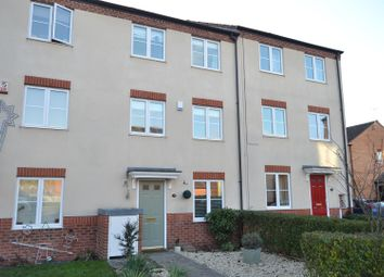 Thumbnail 4 bed town house for sale in Burton Road, Sileby, Loughborough