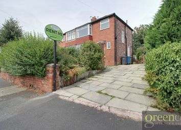 Thumbnail 3 bed semi-detached house to rent in Charlbury Avenue, Prestwich, Manchester