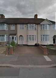 Thumbnail 3 bed terraced house to rent in Hickman Road, Romford