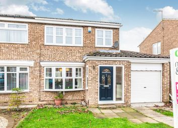 Thumbnail 3 bedroom semi-detached house for sale in Felixstowe Close, Hartlepool
