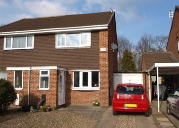 Thumbnail 2 bed semi-detached house for sale in Sudbury Way, Cramlington