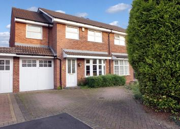 Thumbnail 5 bed semi-detached house for sale in Swallowfield, Tamworth