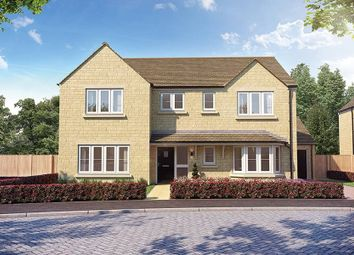 """Thumbnail 4 bed detached house for sale in """"The Osmore"""" at Church Road, Long Hanborough, Witney"""